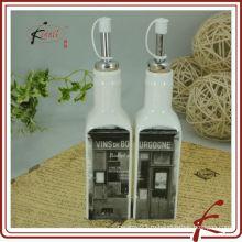 Керамическая бутылка оливкового масла