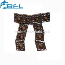 Карбидные вставки BFL для обработки стали