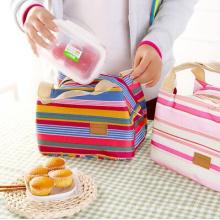 Mode-Wärmedämmung Striped Lunch Bag (54048)