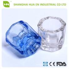 Dental Glass Dappen Dish/dental Crystal Cup/denture Material
