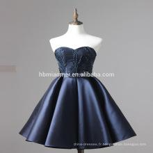 Robe élégante de demoiselle d'honneur de tache de conception avec la jupe de Billowing 2016