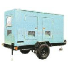movable trailer power station