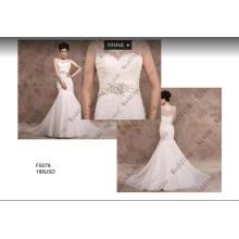 Русалка Кружева Свадебное Платье Свадебные Платья F5079