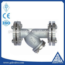 stainless steel flanged y strainer with good price
