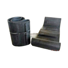Self-discharging iron remover conveyor belt endless rubber conveyor belt