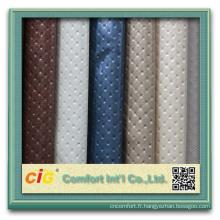 Cuir populaire de PVC Pour le sac à main, la tapisserie d'ameublement et les décorations