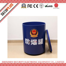 Bomb Blast Container with Max 1.5kg Explosive Blast and Fragments FBG-1.5