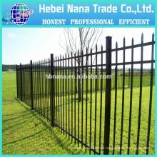 Used Ornamental Steel and Aluminum Fence / valla de estacas / garden fence panel