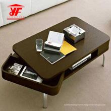 Nueva mesa central con cajón plegable