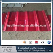 Цветная сталь или оцинкованная стальная катушка лучшего качества 840/900 двухслойная рулонообразующая машина