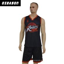 Maßgeschneiderte Team Sublimation Basketball Uniform