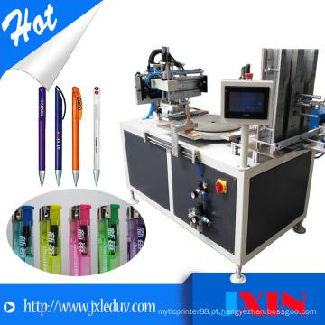 Máquina de impressão automática de seda de seda de carrossel pneumática para máquinas de fabricação mais leves