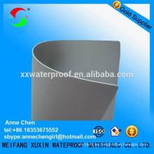 Membrana impermeable reforzada pvc de alta calidad para cubiertas