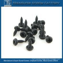 Black Phosphated Pan Framing Head Self Tapping Screws