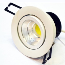 Super brillante blanco cálido proyector led led downlight 1000 lumen