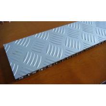 Paneles de sándwich de aluminio antideslizante para suelo de escenario