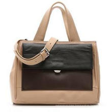 2016 New Arrival Contrast Color Fashion Ladies PU Handbag (ZX20038)