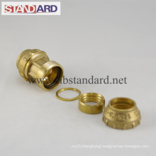 Straight Coupling Brass PE Fitting