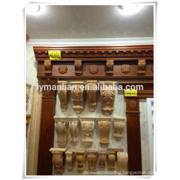 Competitive price Hot sale decorative wood carving corbels
