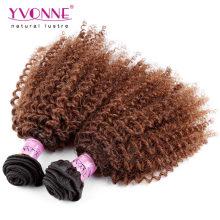 Zweifarbiges Ombre brasilianisches Haar