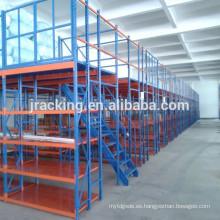 Jracking steel heavy duty galvanizado tente + lit + mezzanine