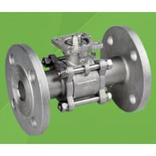 3шт 1000wog служил фланцем плавая шариковый клапан с ISO/5210/5211 монтаж Pad (Q41F)
