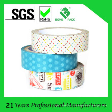 Подгонянная оптовой продажей жидкой бумажной клейкой ленты для декора