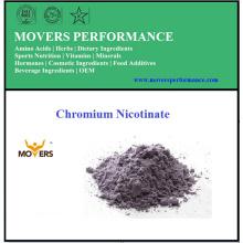 Meilleure qualité alimentaire grille minérale chrome nicotinate