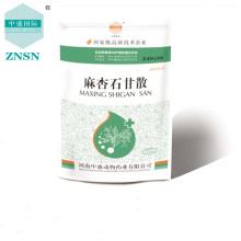Plantes médicinales chinoises Maxingshigan en poudre pour usage vétérinaire