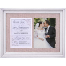 Amazon hot selling 4x6  Engagement Wedding Gifts for Engaged Couples  Boyfriend Girlfriend Romantic Picture Photo Frame