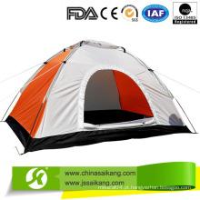 Bela e nova barraca de camping fácil de dobrar