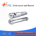 CPVC/UPVC conical twin screw barrel for extrusion line good price