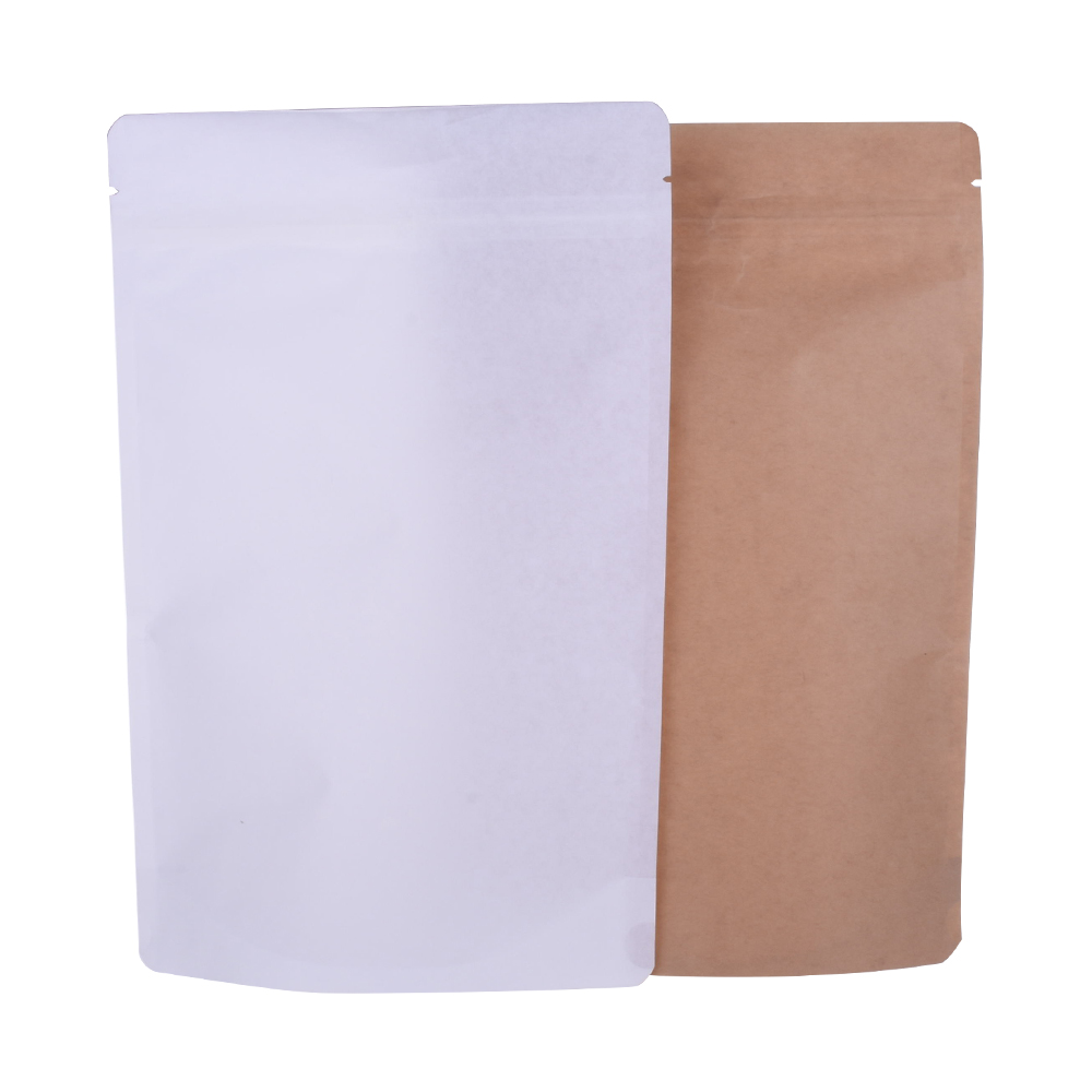 Compostable kraft paper bag