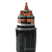 4 Solid Core Round Conductor Armoured XLPE Power Cable