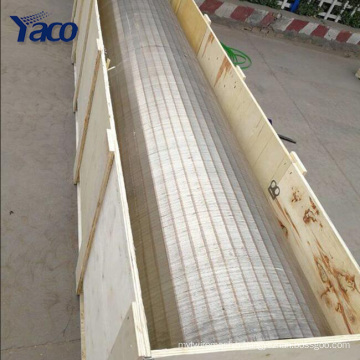 stainless steel welded wedge wire johnson screen basket pipes factory manufacture
