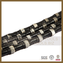 Corde de scie à fil de diamant pour béton et béton armé