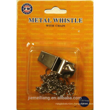 JML Promotion Metal Whistle /Mini Metal Whistle with Chain