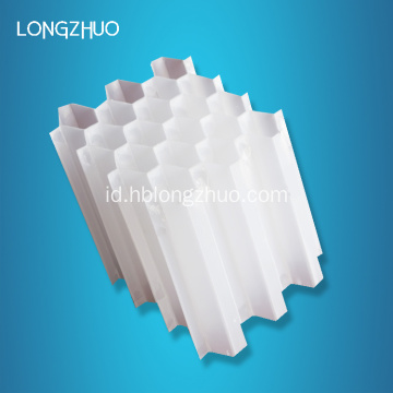 PP PVC Inclined Honeycomb Tabung Pengepakan