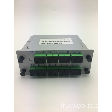 Répartiteur PLC à insertion de type SC / APC 1 * 16