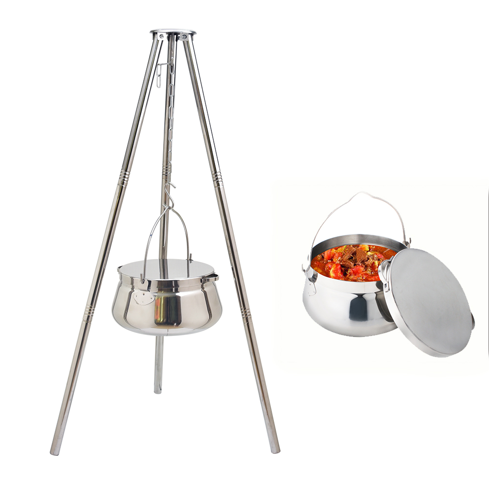Stainless Steel Camping Pot