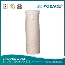 Saco de filtro da poeira de Nomex da resistência de alta temperatura da indústria do tabaco