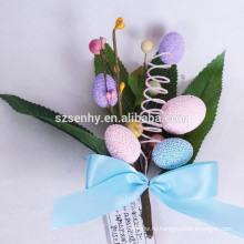 2016 новый дизайн популярные уникальный пластиковый цветок пасхальное яйцо украшения