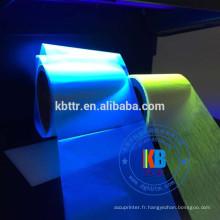 Imprimante de cartes de sécurité à lumière ultraviolette bleu invisible ruban UV p330i