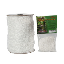 White Heavy-Duty Polyester Plant Trellis Netting 5 x 15ft (1 Pack) For Sale