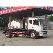 DONGFENG 10CBM Hooking Lift camión de basura tipo de descarga