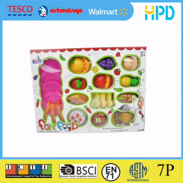 Pretend Cutting Fruit Toy Set for Kid