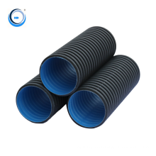 Industrial pe tube plastic hdpe polyethylene pipe hdpe water pipe price for drainage system