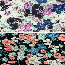 Neue Designs 100% Rayon Printing Damenbekleidungsstoff