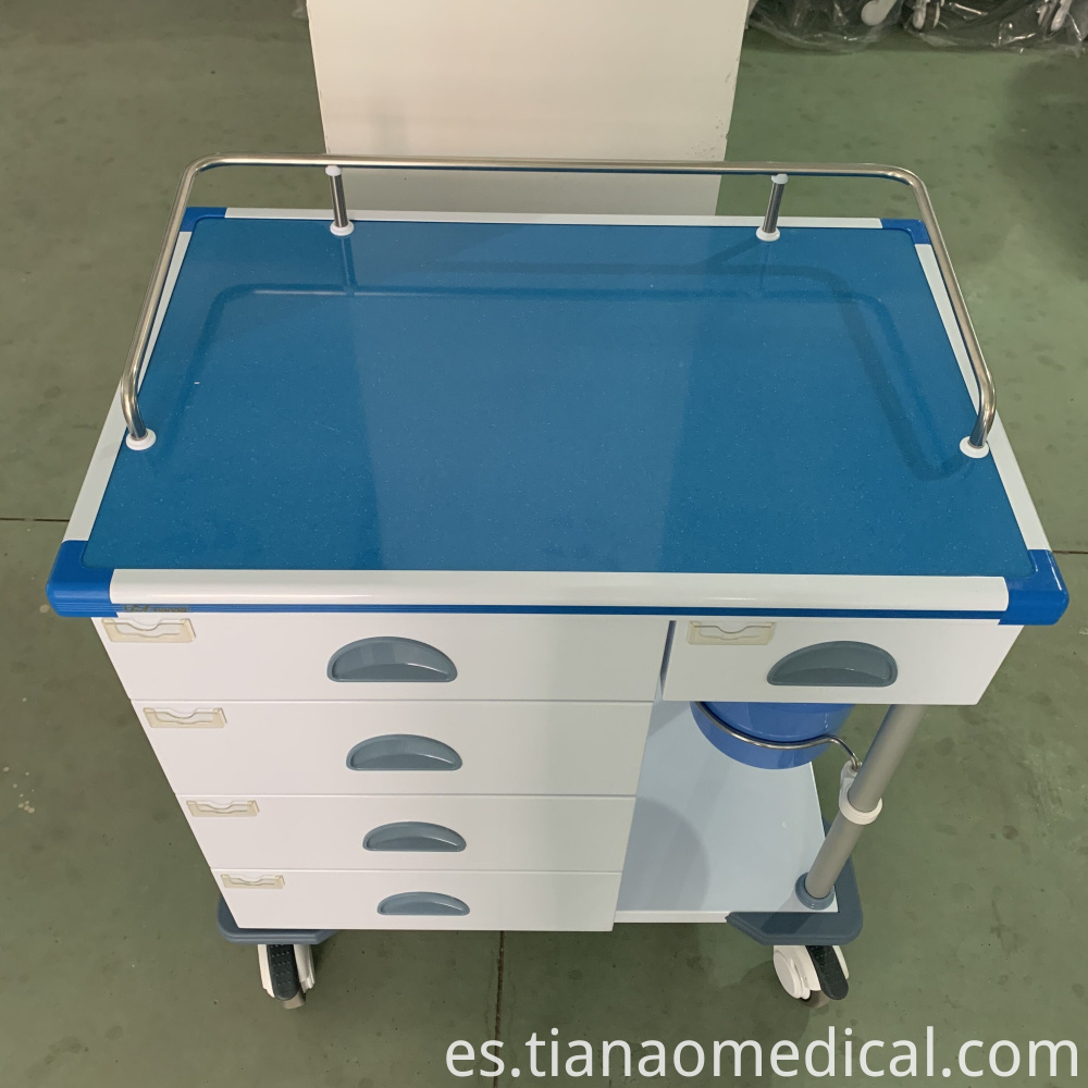 Hospital Medical Steel Treatment Trolley