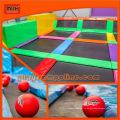 ASTM Outdoor Gymnastic Bungee Trampoline Park с большой воздушной сумкой
